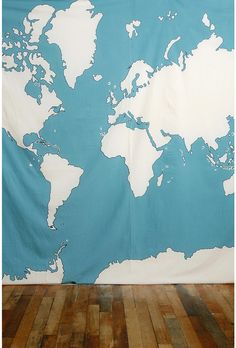 atlas tapestry, $39, urban outfitters