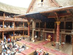 Shakespeare's Globe Theatre (watch an inexpensive play in a replica theatre) - London, England