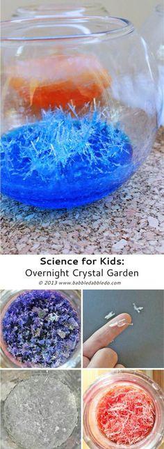 Overnight crystal ga