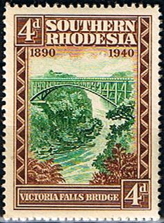 Southern Rhodesia 1940 BSA Jubilee SG 57 Fine Mint Scott 61 Other Commonwealth…