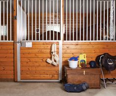 This scene might look picture perfect, but things aren't always what they seem. The fact is, no matter how pampered a horse is, there are aspects of modern horsekeeping that are at odds with the way he was designed to live. Try to spot and name all six secret stresses in the comments, then read our blog at to find the answers and learn how you can help support your horse. (We'll give you a hint: it's not what you think!)