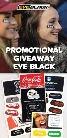 EyeBlack is the perfect event giveaway item!
