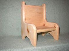 Einzelne Puppe Stuhl von meadowweeds auf Etsy