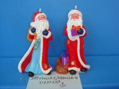 Handmade Christmas Candle/Holiday Candle/Santa Claus Candle from Quanzhou Ruihua Crafts Company of China/Festival Decoration
