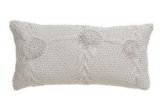 Mariabella 14x26 Pillow, Dove Gray on OneKingsLane.com