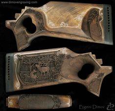 gunstock Relief Carving   gallery gunstocks- Evgeni Dimov-hand engraving
