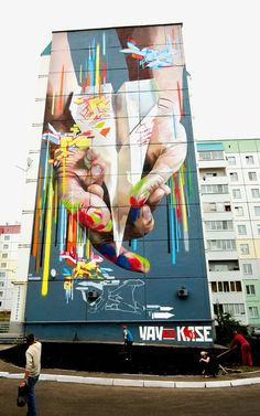 Super size me: giant street art around the world – in pictures | Art and design | The Guardian #streetart jd