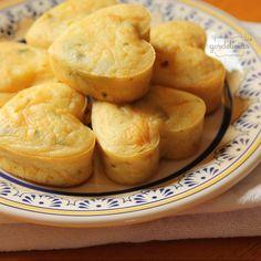 Muffin Salgado de Cenoura. Conheça nossa receita avaliada com 5/5 por 1 membros.