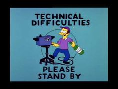 The Simpsons - Technical Difficulties The Simpsons, Simpsons Quotes, Simpsons Funny, Pop Art, Funny Images, Funny Pictures, Funny Pics, Secret Lovers, Technical Difficulties