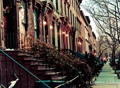 brownstones on carlton street | brooklyn | nyc