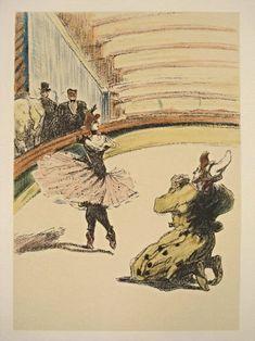 Henri de Toulouse-Lautrec, Circus Drawing Series on ArtStack…