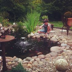 Teich Outdoor Furniture Sets, Outdoor Decor, Home Decor, Water Fountains, Water Pond, Plants, Decoration Home, Room Decor, Home Interior Design