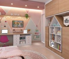 Lovely 15 Diy Home Decor Chambre Ideas For Amazing Home Decorating Design – Home and Apartment Ideas Baby Bedroom, Kids Bedroom, Bedroom Decor, Master Bedroom, Indian Home Decor, Diy Home Decor, My Room, Girl Room, Diy Casa
