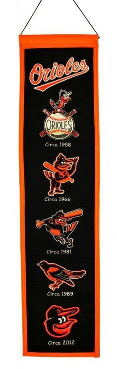 Must have product now available: MLB Baltimore Ori... Get it here! http://www.757sc.com/products/mlb-baltimore-orioles-heritage-banner-8x32-wool-embroidered-1?utm_campaign=social_autopilot&utm_source=pin&utm_medium=pin