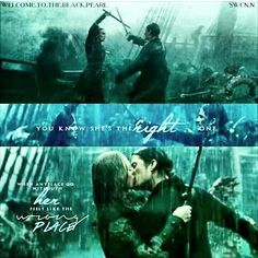 """Elizabeth...Wil you married me? ~ Will Turner'' ""I do not think this is the best Time ~Elizabeth Swann. ""Maybe is it the only time... I made my choice, what is yours? ~ Will Turner'' ''BARBOSSA....Married use! ~ Elizabeth Swann''"