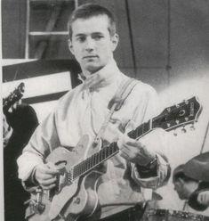 Eric Clapton in the Yardbirds 1964
