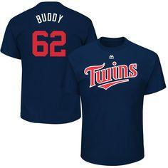 "Buddy Boshers ""Buddy"" Minnesota Twins Majestic 2017 Players Weekend Name & Number T-Shirt - Navy"