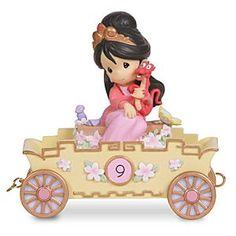 Disney ''Nine is Divine'' Birthday Mulan Figurine by Precious Moments   Disney…