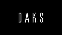 DAKS company logo - Ashley Havinden British Fashion Brands, London Logo, London Fashion, Logo Design, Company Logo, Menswear, Letters, Logos, Logo