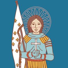 """Catholic Family Crate on Instagram: """"Tomorrow is the Feast of St. Joan of Arc (and feast of the Holy Trinity)! Visit the link in our profile to download our St. Joan of Arc…"""" St Joan, Joan Of Arc, Roman Catholic, Jesus Christ, Crates, Profile, Photo And Video, Link, Fictional Characters"""