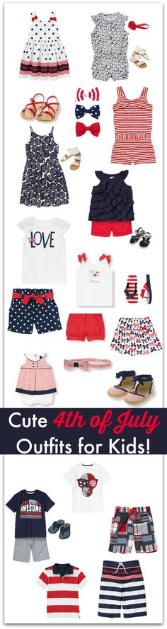Cute 4th of July Outfits for Kids