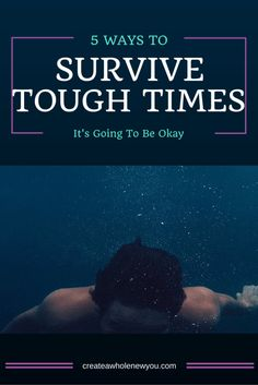 5 Ways to Survive Tough Times New You, Public Speaking, Tough Times, Its Okay, Self Esteem, 5 Ways, Live Life, To My Daughter, Confidence