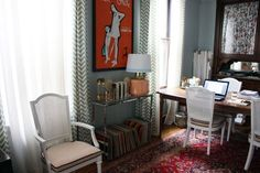 Oh how I do love cute curtains! They add an easy punch of pattern to a room, hide ugly blinds and windows and prevent Peeping Toms in style. Unfortunately, cute curtains can also add up quickly. Fear not, fellow price sensitive consumer. Here are five sources for patterned curtains that won't break the bank.