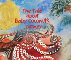 Once upon a time, they met each other – a girl named Rebecca and  a small Baby Coconut.  This unusual friendship began far away from the city this girl was from.  She lived in Brooklyn, New York, with her parents, a little sister and a grandmother.