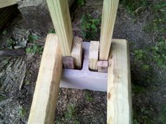 Easy log rack