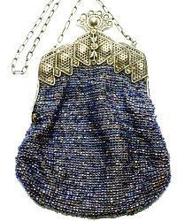 Victorian Beaded Bag!