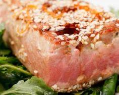 Mi-cuit de thon frais au miel et au sésame pour la concentration : http://www.fourchette-et-bikini.fr/recettes/recettes-minceur/mi-cuit-de-thon-frais-au-miel-et-au-sesame-pour-la-concentration.html