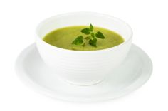 Ayurvedic Diet: Creamy Green Soup and Salad for Pittas