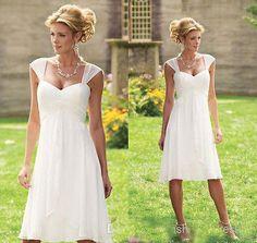 Beach-Short-Wedding-Dresses-Chiffon-Cheap-Bridal-Gowns-Size-0-2-4-6-8-10-12-14