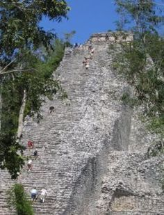 Pyramid, Coba, Mexico  near Tulum, about 30 minutes away