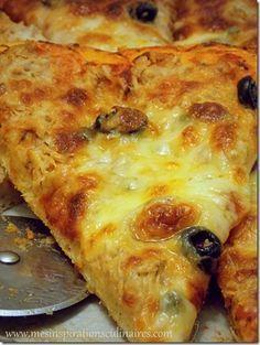Pizza rapide et facile à la pâte magique 10 min ( عجين العشر دقائق) - Gesundes Frühstück Pizza Buns, Pizza Burgers, Naan Pizza, Pizza Pizza, Pizza Express, Cheesy Pizza Recipe, Pizza Recipes, Cake Recipes, Chefs