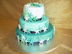 Torta di nozze stella marina - Starfish wedding cake  by Fancy Food and Cakes