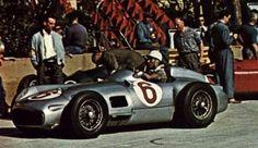 Stirling Moss - Mercedes - Monte Carlo, Monaco Grand Prix 1955