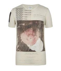 Berwick Slouch Crew T-shirt, Men, T-shirts, AllSaints Spitalfields