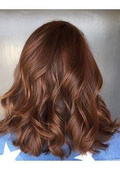 schöne dunkelrote Haarfarbe - Hair color chocolate - - New Ideas Auburn Hair Balayage, Hair Color Auburn, Red Hair Color, Brown Hair Colors, Ombre Hair, Brown Auburn Hair, Copper Brown Hair, Color Red, Short Red Hair