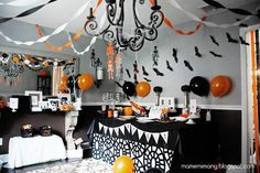 Halloween decorations / IDEAS & INSPIRATIONS a halloween party - CotCozy