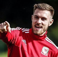 """@_ozilicious no Instagram: """"Aaron Ramsey is in action tonight as Wales take on Cyprus in the European Qualifiers. #AFC"""""""
