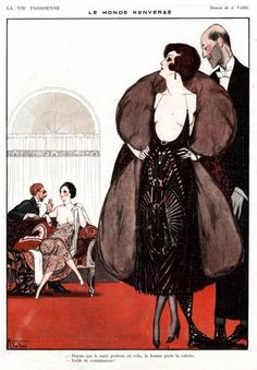 whisters: Armand Vallee Illustration for La Vie Parisienne....
