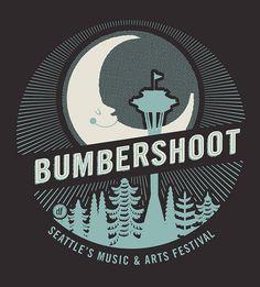 Bumbershoot, Seattle's Music Arts Festival logo