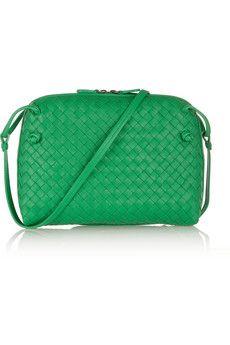 Bottega Veneta Messenger intrecciato leather shoulder bag   NET-A-PORTER