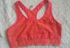 Under Armour sports bra , racer back size Medium orange bra, gym yoga, running | Clothing, Shoes & Accessories, Women's Clothing, Athletic Apparel | eBay!