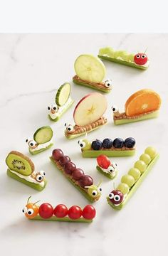 Kids snack ideas via Urban Farm & Garden