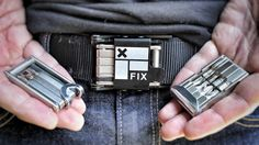Fix Manufacturing creates compact wearable multi-tools for urban riders, skaters and snowboarders
