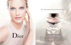 Dior Beauty Capture Totale SS13 Photography Steven Meisel  Model Eva Herzigova