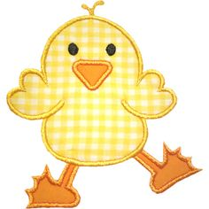 Chick Applique Design