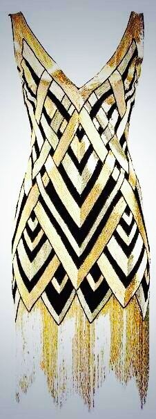 111th Anniversary Sequined-Pattern Cocktail Dress by Naeem Khan at Bergdorf Goodman.❤